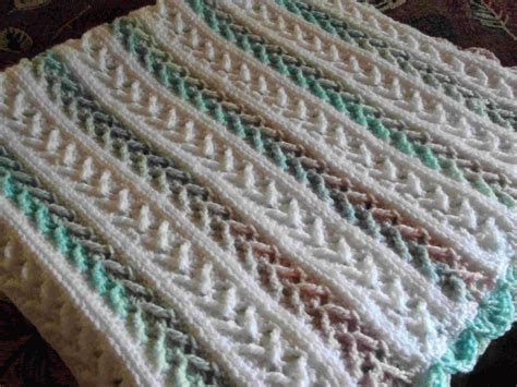 color pattern crochet 7 free crochet afghan patterns in pastel colors that will