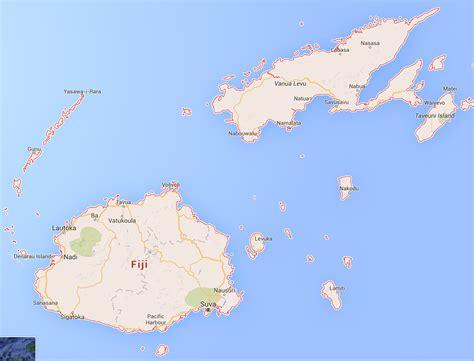 fiji islands map fiji joetourist