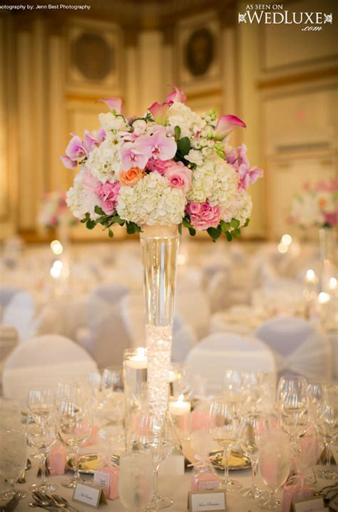 centerpieces with vases wedding centerpiece ideas archives weddings romantique