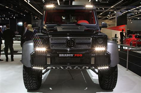 mercedes pickup truck 6x6 interior brabus b63 s because the mercedes benz g63 amg 6x6 wasn t