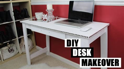 how to paint a desk diy desk makeover how to paint furniture without sanding
