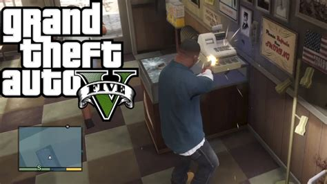 Good Ways To Make Money On Gta 5 Online - gta 5 how to rob any store easy money youtube