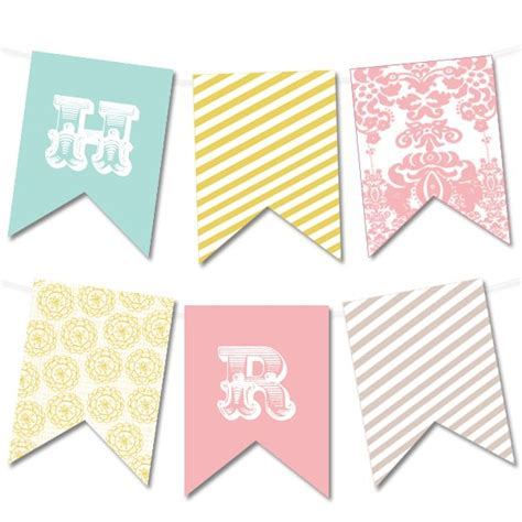 printable letters on bunting pretty flora bunting banner bunting banner printable