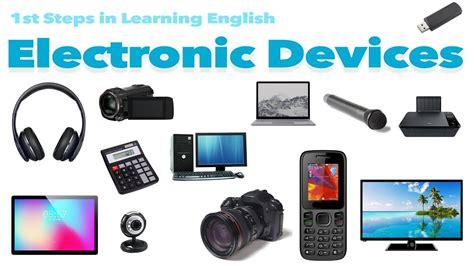 english vocabulary electronics youtube
