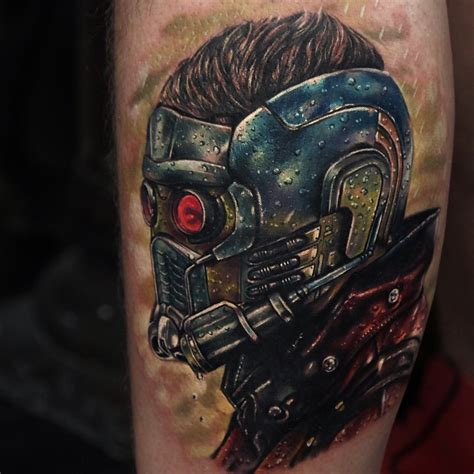 star lord guardians of galaxy tattoo by rich pineda best
