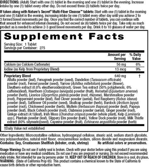 Nature S Secret Multi Herb Digest Detox 275 Ct by Nature S Secret Multi Herb Digestion Detox Support 275