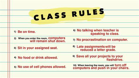 elements of art ms massadas class classroom rules ms massadas class