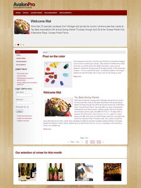 template toko online joomla 2 5 gratis coffee joomla 2 5 template images