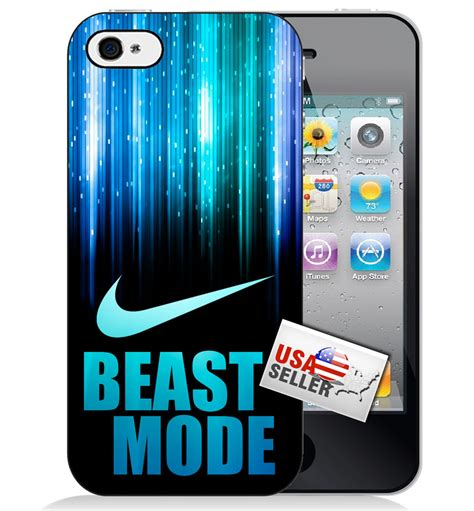Iphone Iphone 5s And The Beast Cover nike beast mode swoosh plastic phone iphone 6 6s 6 6s plus 5 5s 5c ebay