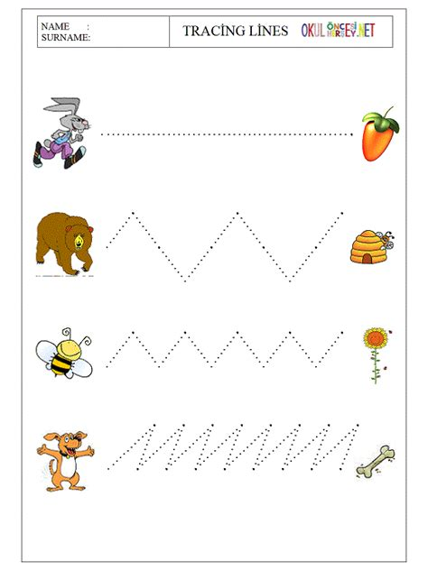 worksheet for preschool lines free coloring pages of tracing line vertical
