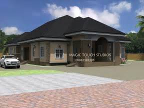 Bungalow Bedroom residential homes and public designs 4 bedroom bungalow