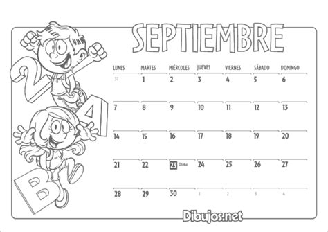 Calendario De Septiembre 2015 161 Ya Puedes Descargar El Calendario Infantil 2015 Para