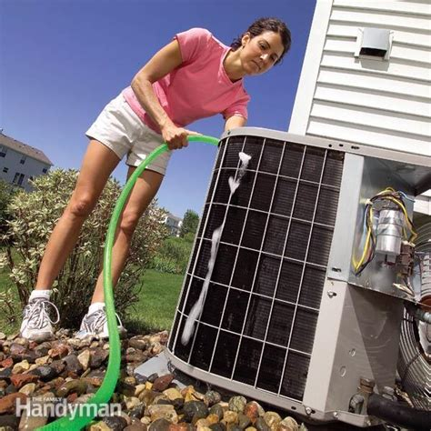 clean your air conditioner condenser unit the family handyman