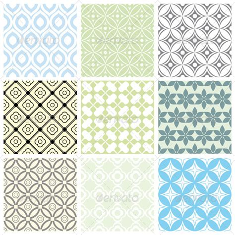 simple pattern eps geometric vector patterns graphicriver