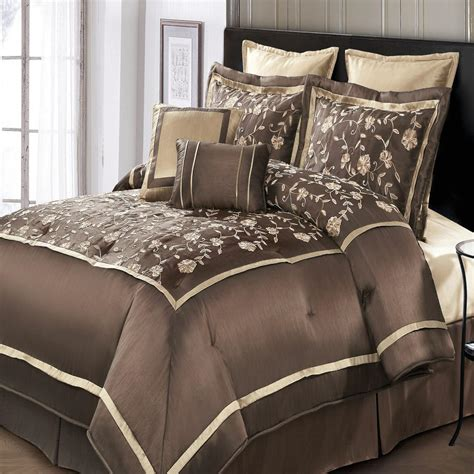 francesca brown oversize king 8 piece comforter set