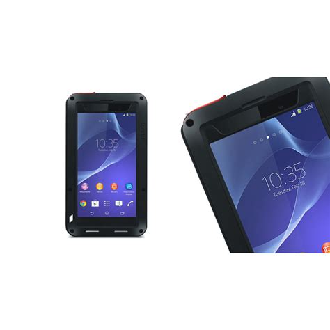 love themes for sony z2 love mei weather dirt shockproof protective case for sony