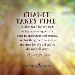 when is it time to get a new car change takes time by bryant mcgill