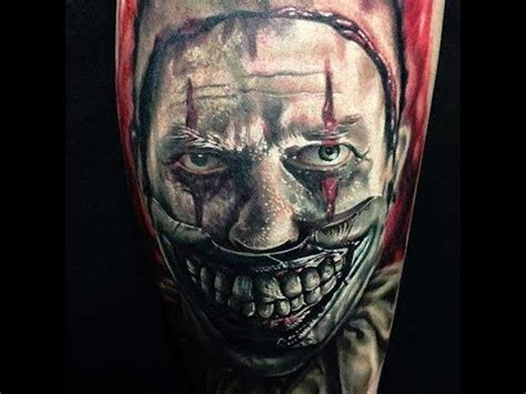 bali tattoo horror stories best american horror story clown tattoos in the world