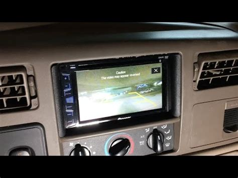 ford     backup reverse camera install youtube