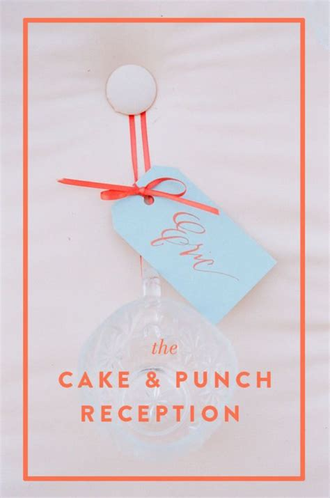Simple Cake And Punch Wedding Reception by Cake And Punch Wedding Receptions Beautiful Receptions