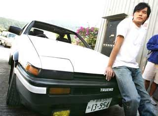 jay chou initial d jay chau in initial d movie asian entertainment news