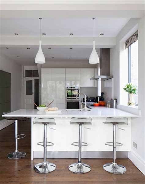 white kitchen island with breakfast bar design a scandi style kitchen that works for you the
