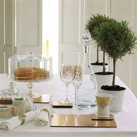 Handmade Table Centerpieces - inexpensive green decor handmade