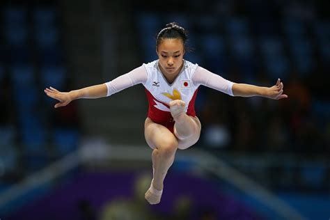 gymnast wardrobe malfunction gymnastics asian games day 3 zimbio
