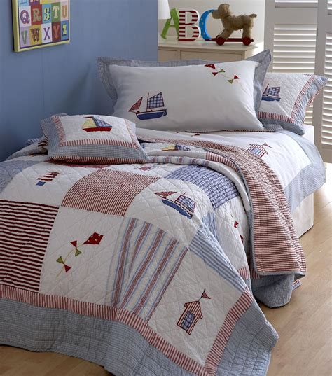 boat bed linen childrens bed linen from linen lace and patchwork