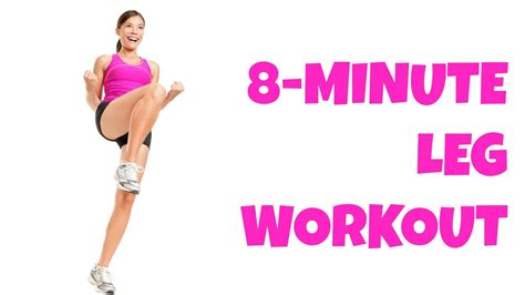 8 minute legs at home lower workout no equipment