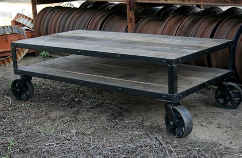 Combine 9   Industrial Furniture ? Coffee Table