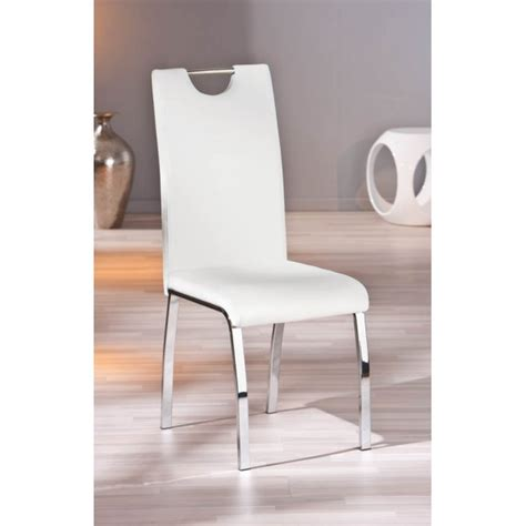 chaise blanche pas cher chaise blanche pas cher lot de 2 chaises blanches
