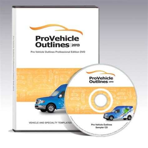 pro vehicle templates pro vehicle outlines 2013 449 00 professional edition