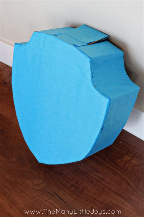 Diy Pinata Made From A Cardboard Box The Many Little Joys