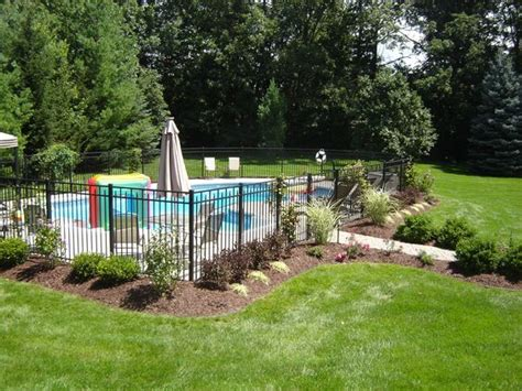landscaping around a pool landscaping around pool all natural landscapes