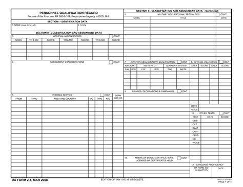 download da form 2 1 personnel qualification record pdf xfdl freedownloads net