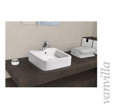 waschtisch aufsatzbecken design keramik waschbecken aufsatzbecken eckig