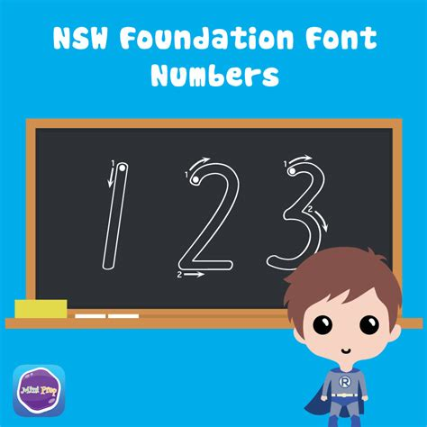 alphabet flash cards nsw font printable nsw foundation font numbers worksheet by mini prep