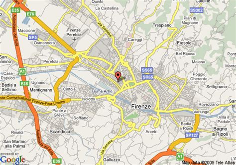 best western select florence map of best western hotel select florence
