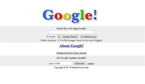 google design history web design history from cyberpunks to ui ux