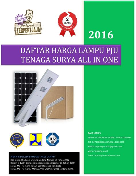 Harga Sariayu Pembersih All In One harga lu pju tenaga surya all in one led