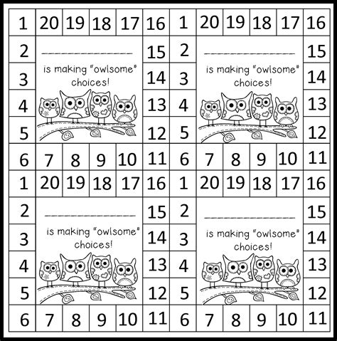Classroom Punch Card Template by Monday Made It Behavior Punch Cards Behavior Punch