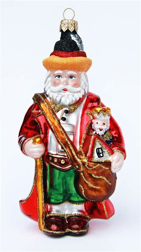 german santa christmas ornament germansteins com