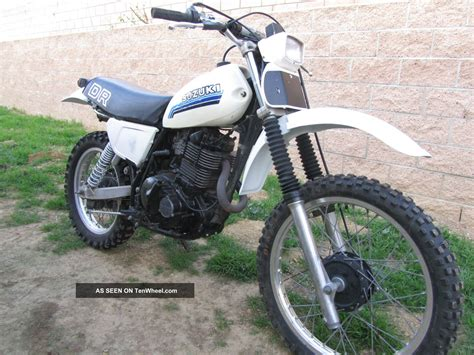 Suzuki Dr500 1981 Suzuki Dr500 Dr 500