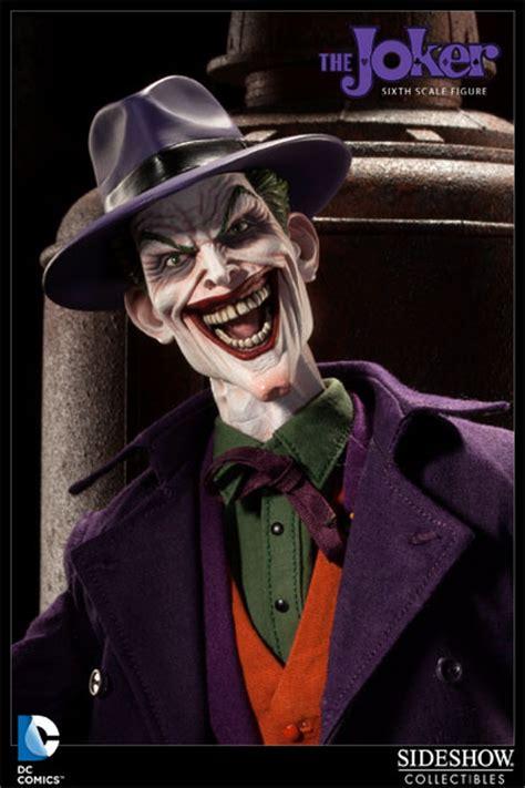 of joker dc comics the joker sixth scale figure by sideshow