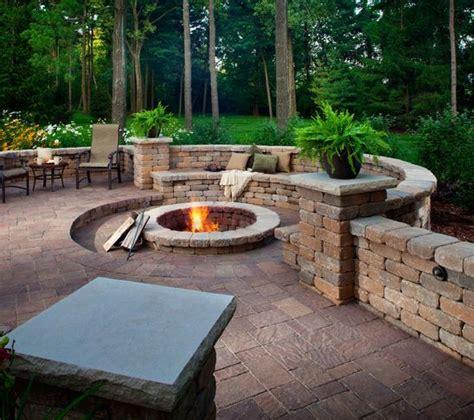Backyard Hilarious 25 Best Ideas About Paver Pit On Paver