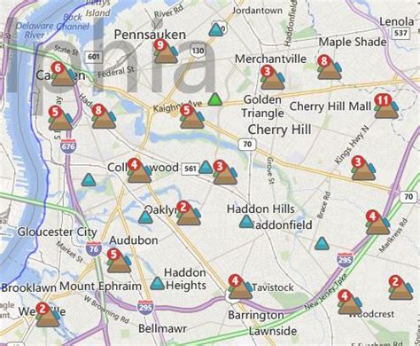 pse g outage map 33 000 in four counties lose power in