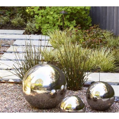 Le Boule Exterieur Jardin 4717 boules en m 233 tal acier inoxydable pour d 233 coration int 233 rieur