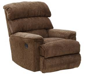 Wall Hugger Recliners Catnapper Pearson Power Wall Hugger Recliner Mocha 64739