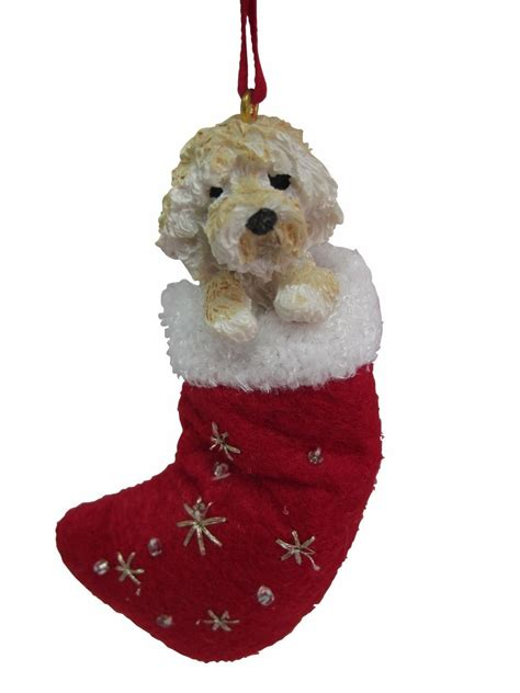 goldendoodle ornament santa s pals goldendoodle ornament
